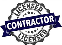 Licensed Contractor seal